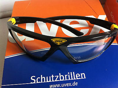 Safety Glasses. 5 X Uvex Athletic Anti Fog. Clear safety Glasses. German made