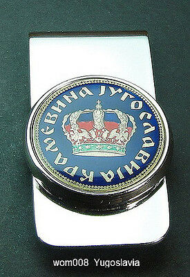 MONEY CLIP world coin choice of country color pattern MONEY CLIPS