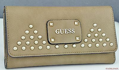 NWT Wallet GUESS Pavilla Slg Camel New Ladies
