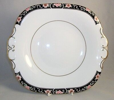 Coalport RICHMOND Cake Plate with Pull Tab Handles GREAT CONDITION
