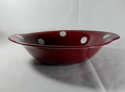 J and G meakin Studio Ware Polka dot Round Vegetable Bowl