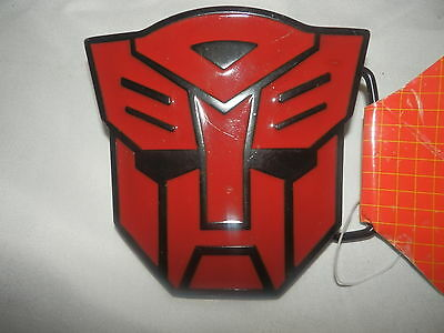 Transformers Autobot  Belt Buckle  ( RED ) - New