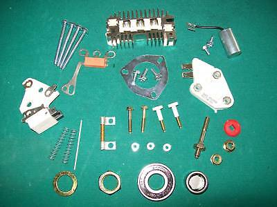 Delco 10SI 10 SI Alternator Rebuild Kit 70 AMP More Hardware Capacitor Resistor