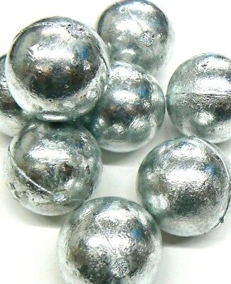 99.9% Pure Zinc Anodes 20lbs Zinc Anode Round 1# Balls For Metals & Alloys Metal