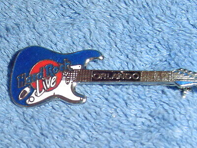 HARD ROCK CAFE ORLANDO LIVE BLUE GUITAR PIN
