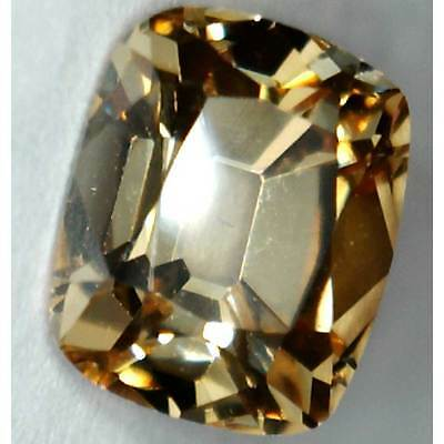 Old Mine Cut  Champagne  7mm x 8mm 3.8ct Loose Gemstones