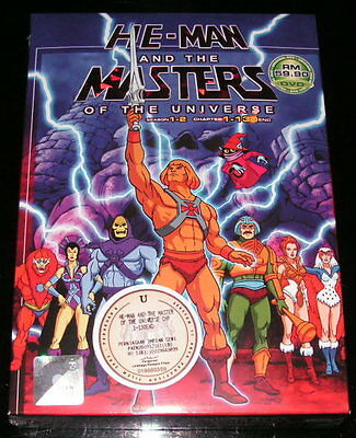 DVD He-Man and Masters of the Universe Vol.1 - 130 End Heman