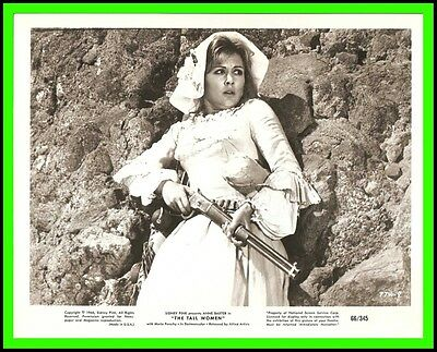 "CRISTA LINDER in ""The Tall Women"" Original Vintage Photo 1966"
