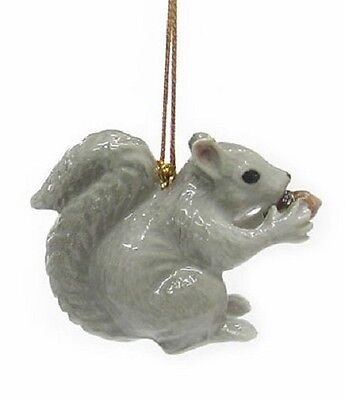 R179 - Northern Rose Christmas Ornament  - Squirrel  - RETIRED!