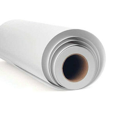 "BUY 2 GET 1 FREE! White Matt / Gloss  24"" 610mm Fablon Type Self Adhesive Vinyl"