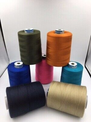 Polyester/Cotton-Heavy duty sewing machine tread M36 , upholstery leather 4000m