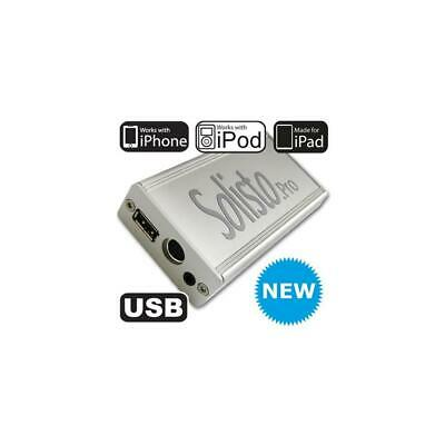 Solisto Pro 4105 USB iPad iPhone Interface VW Volkswagen Audi +1m Kabel Quadlock