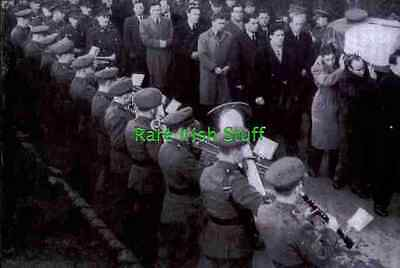 John Joe O'Reilly Cavan GAA Gaelic Football with Irish Army Band 1952 Funeral