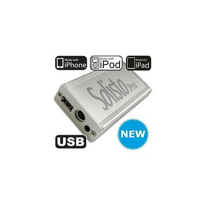 Solisto PRO 4105 Audi USB iPhone 3G 4 4S Interface Volkswagen VW Delta MFD 2 DVD