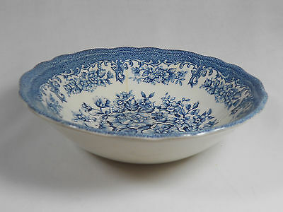 """Royal Straffordshire/J&G Meakin/China/ 6 1/2"""" Cerial Bowl /in England/Flow Blue"""