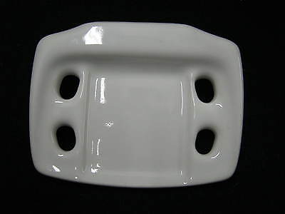 Vintage Bathroom China Toothbrush/Cup/Glass Holder Soap Dish # 113-12