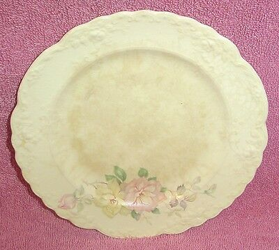 Set 8 TS & T Pink Rose Bread & Butter Plates Plate Taylor Smith Taylor