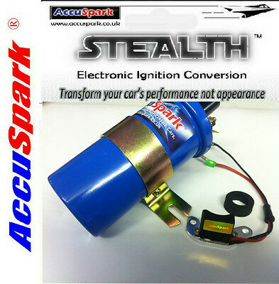 Triumph TR7 AccuSpark Stealth Electronic ignition conversion kit & Ballast Coil