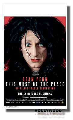 Poster THIS MUST BE THE PLACE Paolo Sorrentino Locandina Originale 35X70