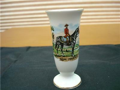 Old Foley Mounted Police small Vase # 6664