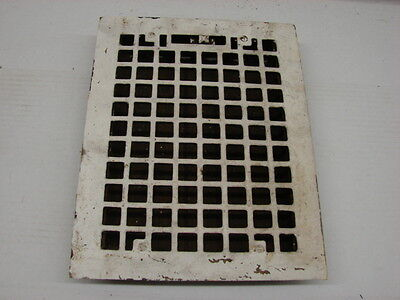 Vintage 1920S Cast Iron Heating Grate Square Design 13.75 X 10.75 C