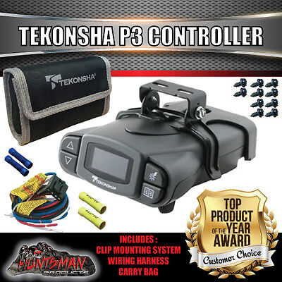 Tekonsha P3 Prodigy Caravan Trailer Electric Brake Controller & Wiring Kit