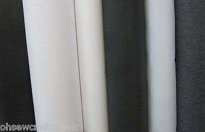 2m Light, Medium Or Heavy Weight Iron On Interfacing 75cm Wide Fusible