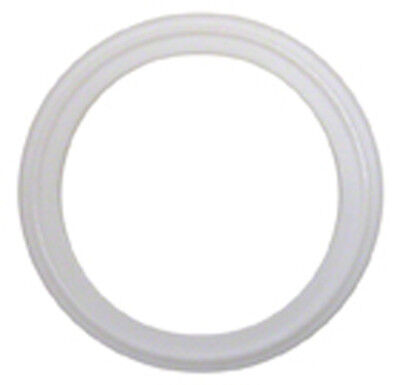 """Lot Of 3 White Silicone Tri Clamp Sanitary Gaskets 4"""" Triclamp Tri-Clover"""
