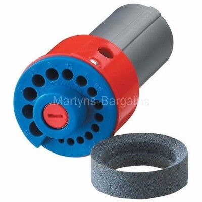 Clarke CBS43 Drill Bit Sharpener.Sharpener fits to all drills with a 43mm collar