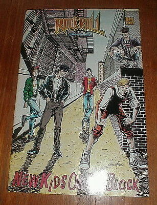 NEW KIDS ON THE BLOCK Rock & Roll Comic Book NM