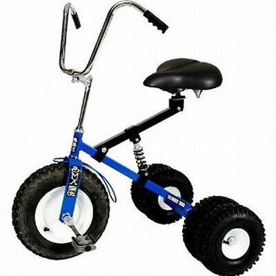 Dirt King Adult Dually Tricycle Trike BLUE DK-252-ATB