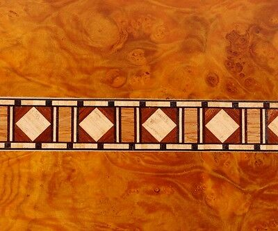 Exquisite Rarely Seen  Buffard Frères Marquetry Banding Strips (Inlay-10)