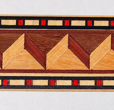 "1-3//4/"" Exquisite /""Never to be seen again/"" Buffard Frères Marquetry Banding I-5"