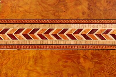 Fabulous Rarely Seen  Buffard Frères Marquetry Banding Strips (Inlay-14)