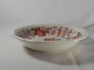 Spode Aster-Red Pattern 2/8130 Coupe Cereal Bowl(s)
