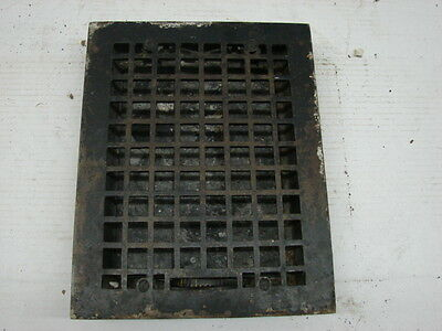 Vintage 1920S Cast Iron Heating Grate Square Design 13.75 X 10.75 D