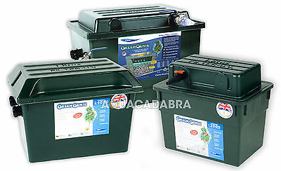 Lotus Green Genie Uv Filter 2000,3000,6000,12000,24000,48000 Koi Fish Pond Box