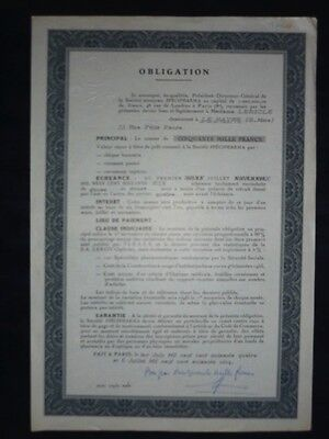 Obligation De 1966 Domaine Pharmaceutique - 21 X 30,7