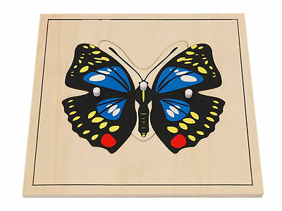 New Montessori Butterfly Puzzle
