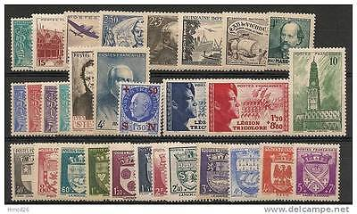 Annee Complete Neuve Xx 1942 Timbres Luxe