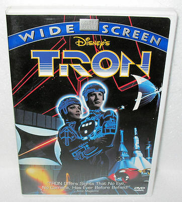 Disney's Tron (Original 1st DVD Release) Flawless Condition Adult Owned