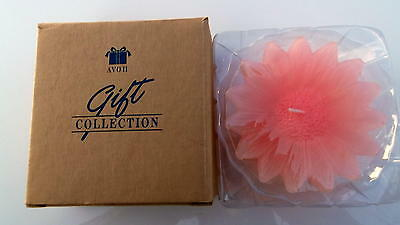 Avon Floating Floral Candle Pink New