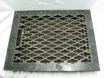Vintage Heat Grate Grill Antique Louvred Register  # 230-12