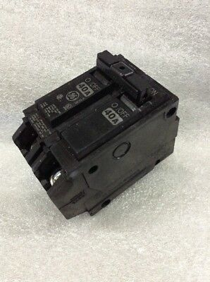 Ge Thqb2140 Circuit Breaker 2 Pole  40 Amp 240 Vac New!!!