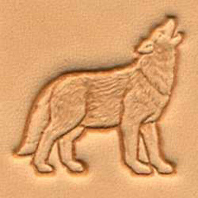 Craftool 3d Wolf Stamp 88475-00 by Tandy Leather