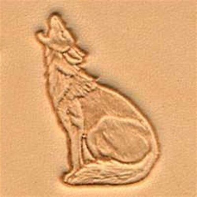 Howling Coyote 3D Stamp 88422-00 by Tandy Leather