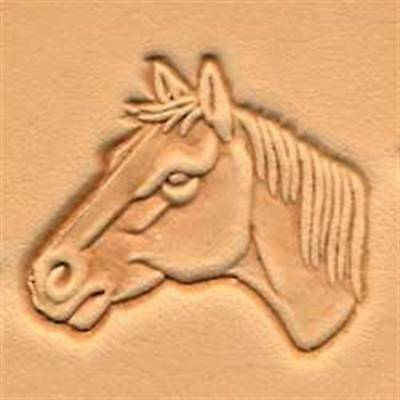 Horse Head Left 3d Stamp 88364-00 by Tandy Leather
