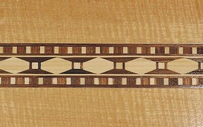 An Egyptian Trompe-l' il -- Buffard Frères Marquetry Banding Strip (Inlay-24)