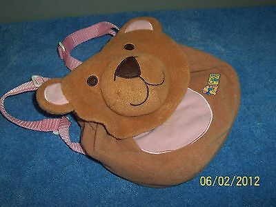 Zapf Creations Baby CHOU ChOU Doll  Teddy Face Back Pack Simply Gorgeous