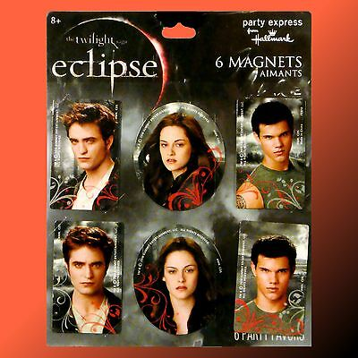 2x 6-pack Twilight Eclipse Movie Magnets featuring Bella Jacob & Edward NEW 3130